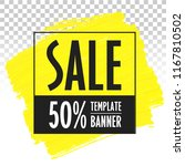 advertising banner template... | Shutterstock .eps vector #1167810502
