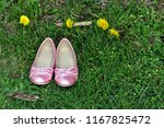 genuine leather pink shoes for... | Shutterstock . vector #1167825472