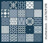 vector graphic vintage textures ... | Shutterstock .eps vector #1167829198