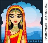 asian beauty. animation... | Shutterstock .eps vector #1167830452