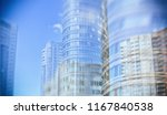 city life. abstract background... | Shutterstock . vector #1167840538