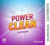 detergent advertising concept... | Shutterstock .eps vector #1167858478