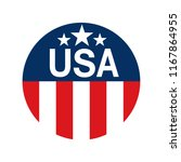 made in usa sign vector | Shutterstock .eps vector #1167864955
