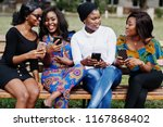 Group Of Four African American...