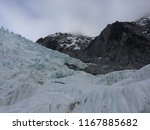 franz josef glacier  new...   Shutterstock . vector #1167885682