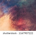 colorful galaxy faded holi... | Shutterstock . vector #1167907222