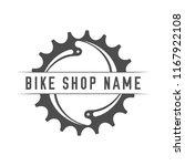bikes shop emblem. design...   Shutterstock .eps vector #1167922108