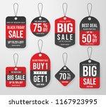 set of black friday promotion...   Shutterstock .eps vector #1167923995