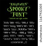 Spooky Font For Halloween....