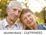 smiling grandparents. portrait... | Shutterstock . vector #1167954052
