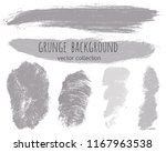 paint lines grunge collection.... | Shutterstock .eps vector #1167963538