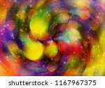 dreamy motion holiday blur... | Shutterstock . vector #1167967375
