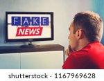 lies of tv propaganda... | Shutterstock . vector #1167969628