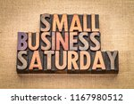 small business saturday word... | Shutterstock . vector #1167980512