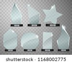 glass trophy awards template.... | Shutterstock .eps vector #1168002775