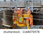 newbury station  berkshire uk.... | Shutterstock . vector #1168070578
