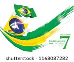 vector illustration. brazilian... | Shutterstock .eps vector #1168087282