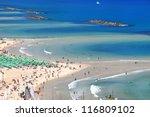 panoramic view of tel aviv... | Shutterstock . vector #116809102