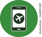 mobile app filled icon | Shutterstock .eps vector #1168094185