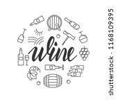 wine vector illustration | Shutterstock .eps vector #1168109395