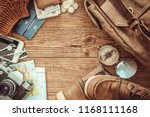 looking image of travelling... | Shutterstock . vector #1168111168