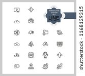 interactive system icons. set... | Shutterstock .eps vector #1168129315