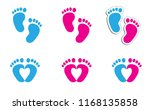 baby coming soon baby gender... | Shutterstock .eps vector #1168135858