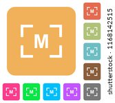 camera manual settings mode... | Shutterstock .eps vector #1168142515