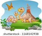cartoon mother and baby...   Shutterstock .eps vector #1168142938