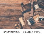 looking image of travelling... | Shutterstock . vector #1168144498