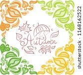 autumn. vector illustration | Shutterstock .eps vector #1168162522