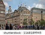 amsterdam  netherlands   august ... | Shutterstock . vector #1168189945