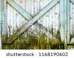 close up of old weathered  ... | Shutterstock . vector #1168190602