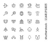 Collection Of 25 Cute Outline...