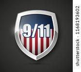 9 11 patriot day poster... | Shutterstock .eps vector #1168193602