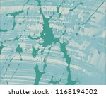 ink handmade painting. abstract ... | Shutterstock . vector #1168194502