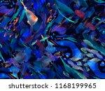 boho kaleidoscope abstract...   Shutterstock . vector #1168199965