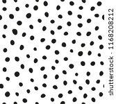 small dots seamless pattern.... | Shutterstock .eps vector #1168208212