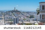 san francisco  the lombard... | Shutterstock . vector #1168212145