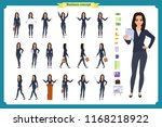 ready to use character set.... | Shutterstock .eps vector #1168218922