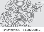 abstract vector terrain map ... | Shutterstock .eps vector #1168220812
