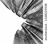 city architecture building 3d  | Shutterstock .eps vector #1168224538