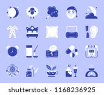 insomnia silhouette icons set.... | Shutterstock .eps vector #1168236925