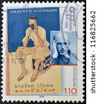 germany   circa 1998  a stamp...   Shutterstock . vector #116825662