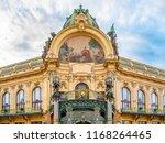 municipal house   art nouveau... | Shutterstock . vector #1168264465