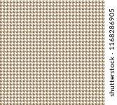 houndstooth seamless pattern  ... | Shutterstock .eps vector #1168286905