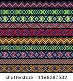 beading design  tribal design ... | Shutterstock .eps vector #1168287532