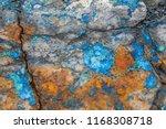 brilliant azurite copper... | Shutterstock . vector #1168308718