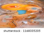 geysers  colorful hot springs ...   Shutterstock . vector #1168335205