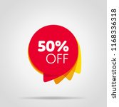 special offer sale red tag... | Shutterstock . vector #1168336318
